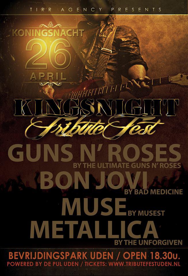 King's Night Tribute Fest, Uden