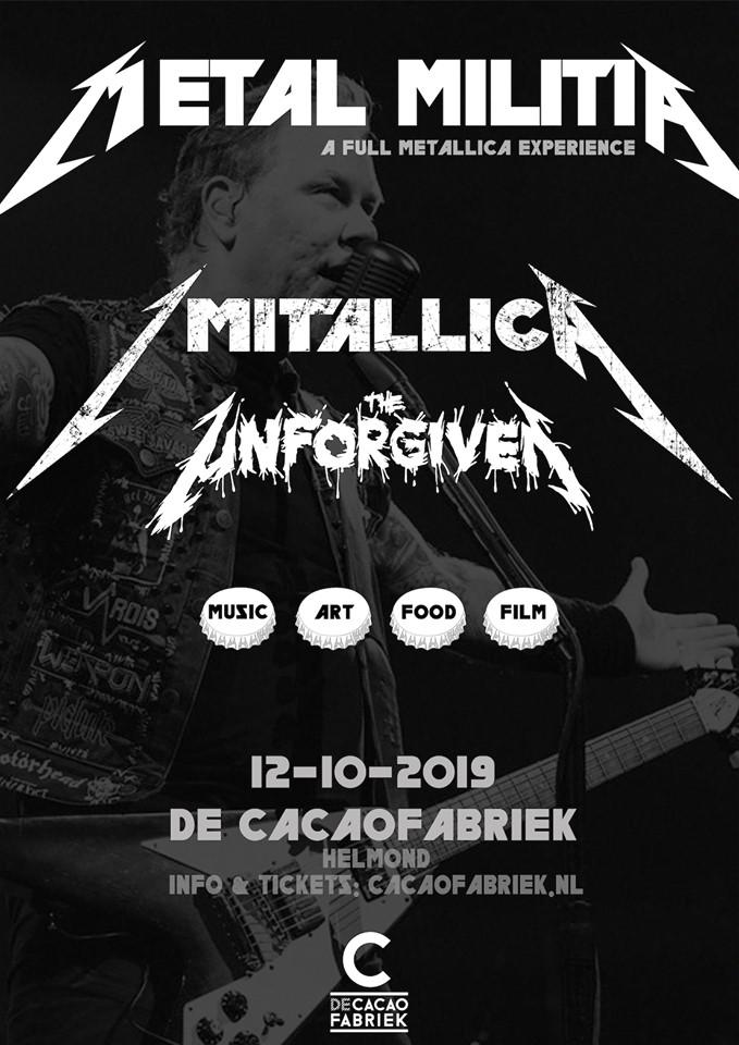Metal Militia – A Full Metallica Experience